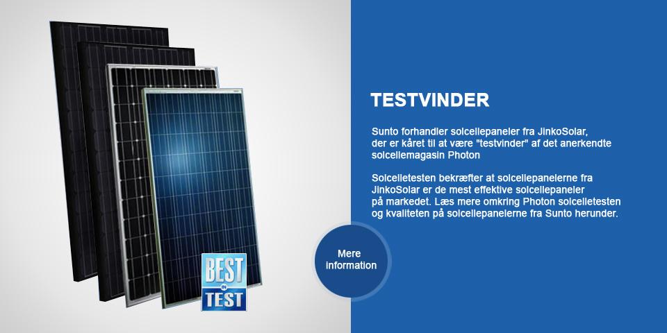 solcelle test vinder bedst i test